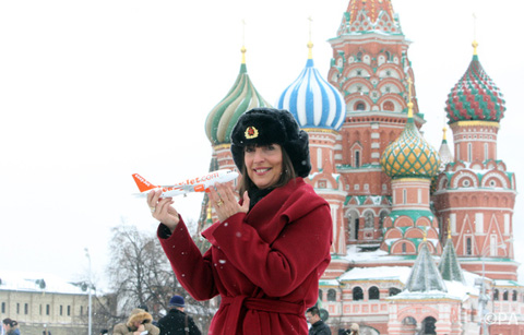 easyJet launch new Moscow route